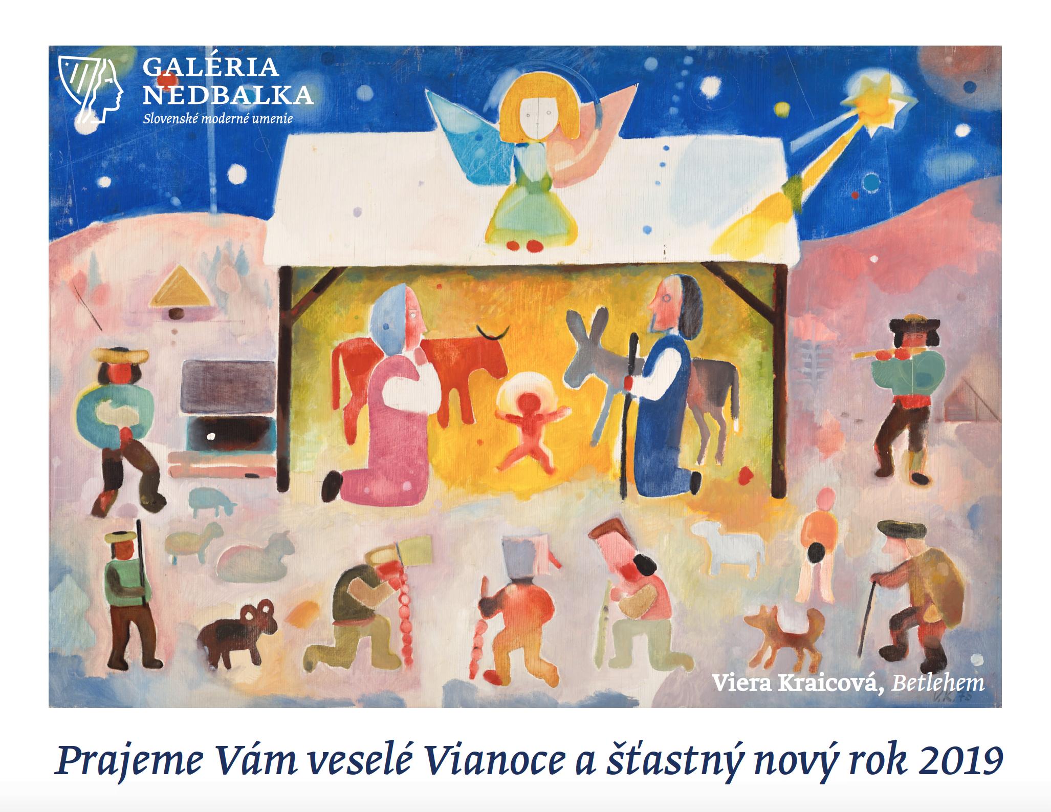 Vianočný pozdrav 2019