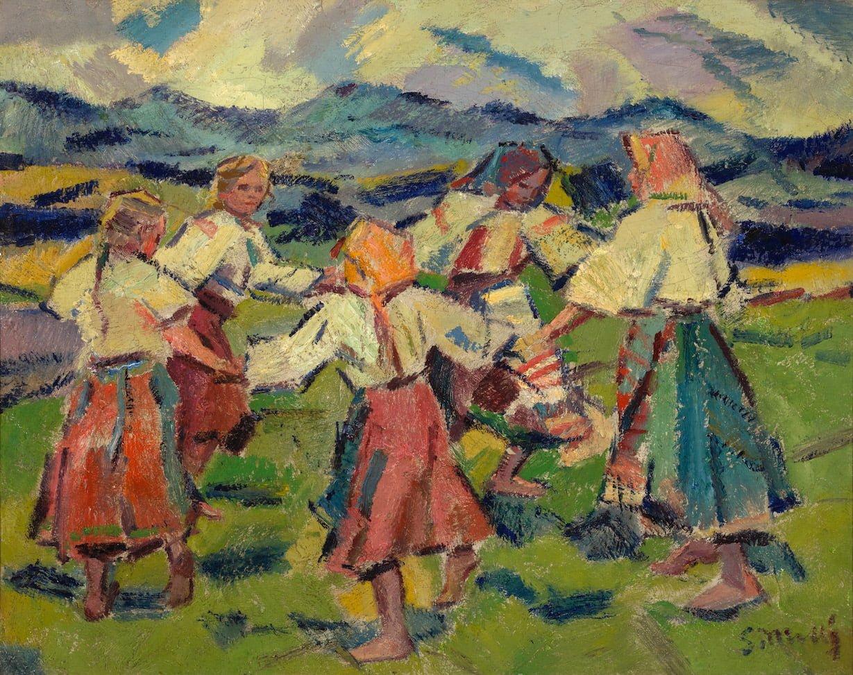 Mallý Gustáv - Tancujúce dievčatá